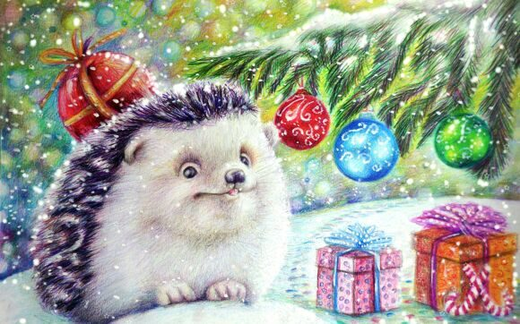 Hedgehogs_Toys_Painting_451648_3840x2400
